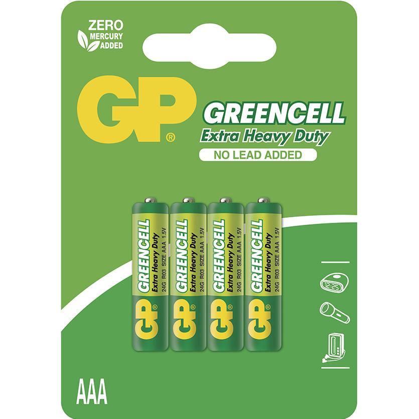 Baterie Greencell B1211 GP R03 4BL