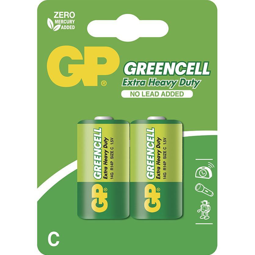 Baterie Greencell B1231 GP R14 2BL
