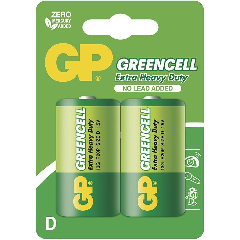 Baterie Greencell B1241 GP R20 2BL