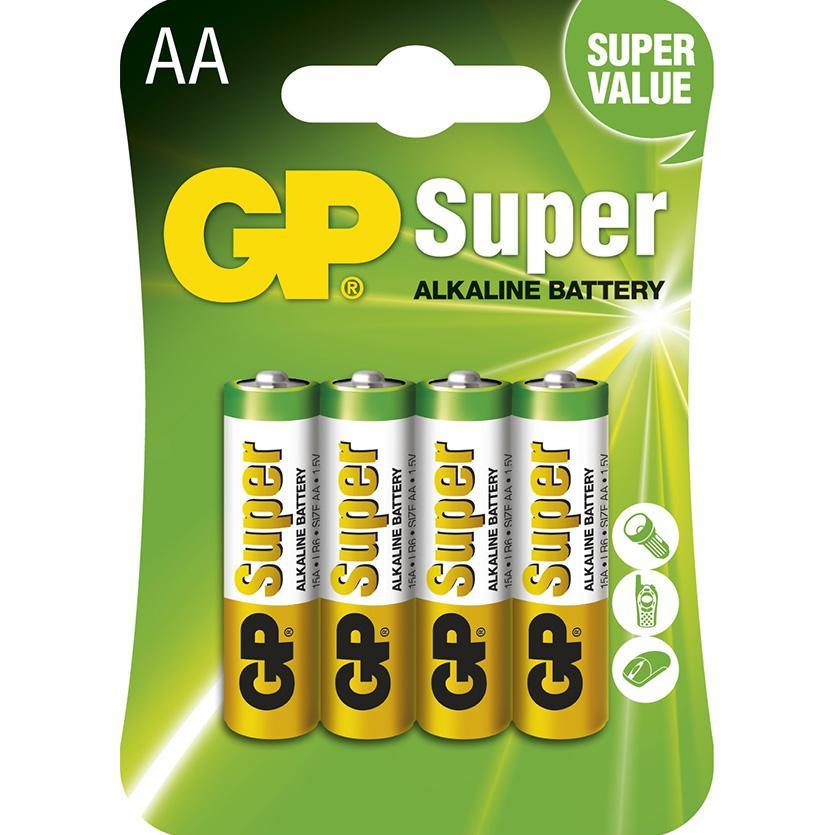 Baterie Super B1321 GP LR6 4BL