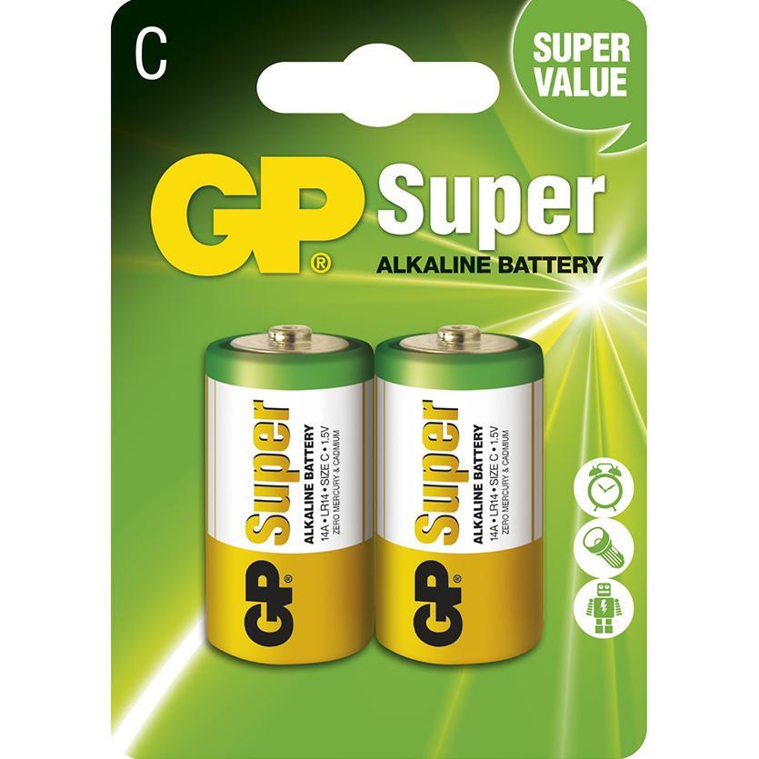 Baterie Super B1331 GP LR14 2BL