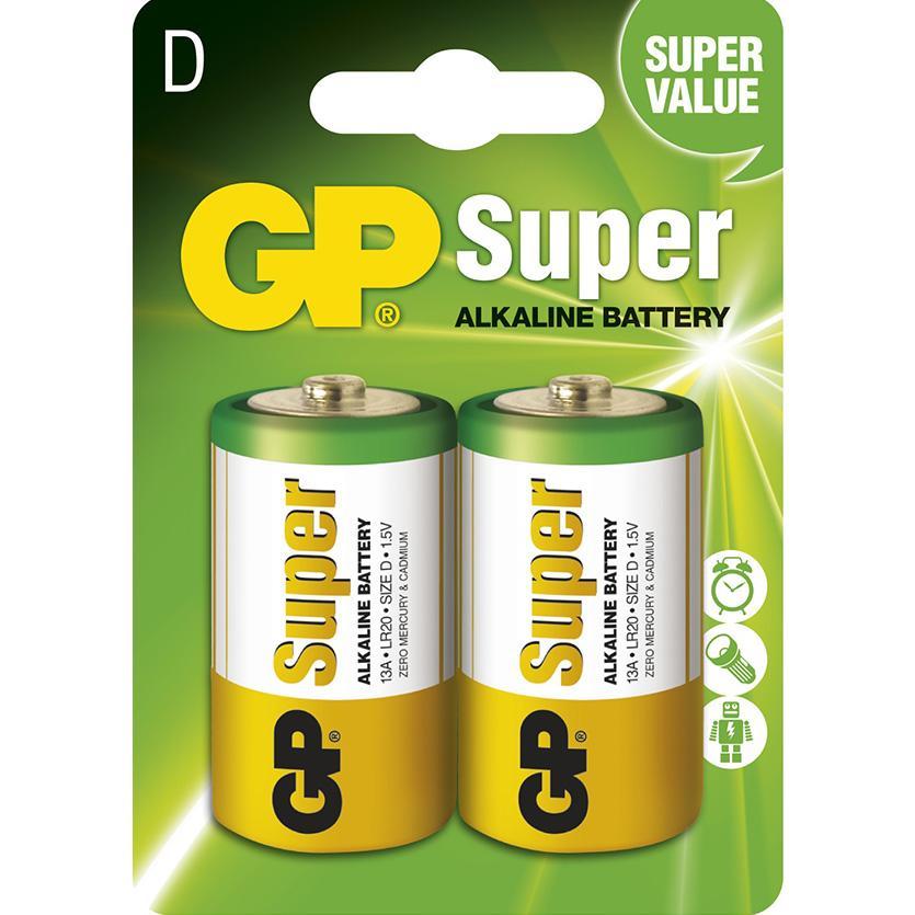 Baterie Super B1341 GP LR20 2BL