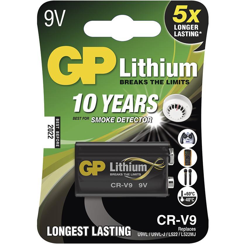 Baterie Lithiová B1509 GP CR-V9 1BL