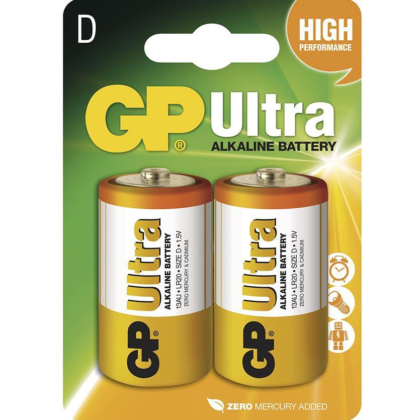 Baterie Ultra B1941 GP LR20 2BL