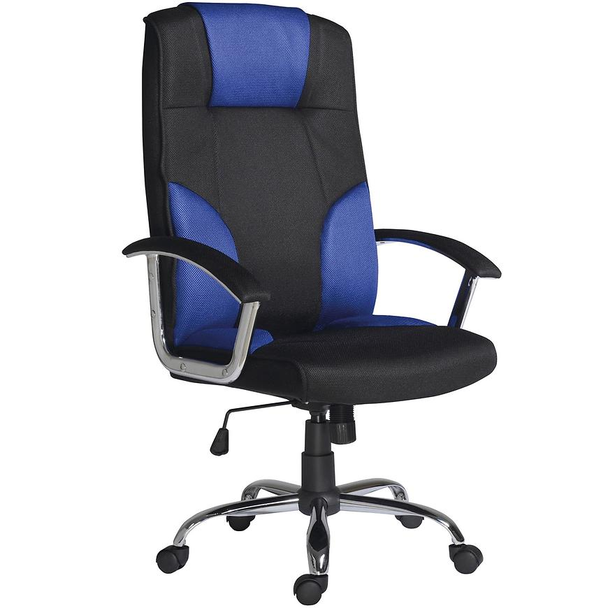 Kancelářské křeslo Miami c blue, černá/modrá