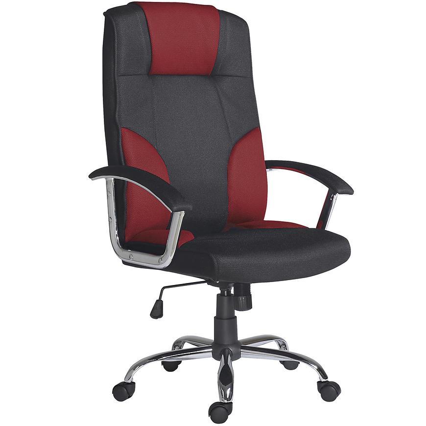 Kancelářské křeslo Miami c red, černá/červená