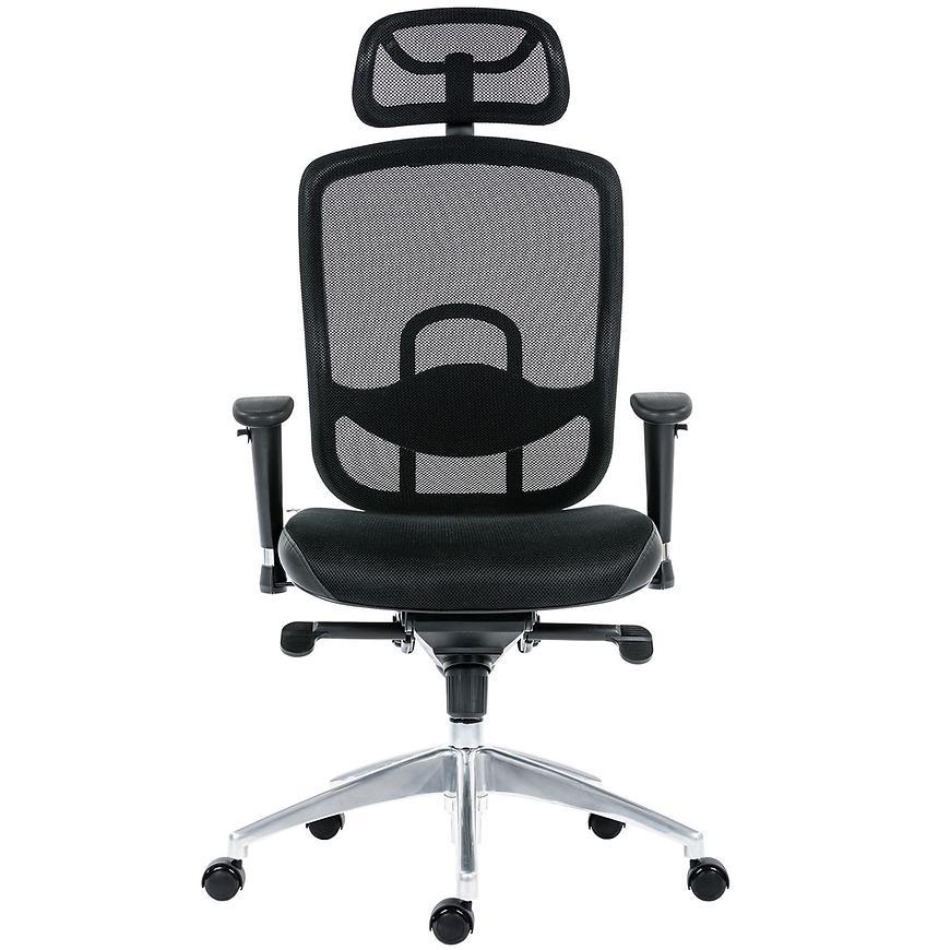 Kancelářská židle oklahoma PDH, černá