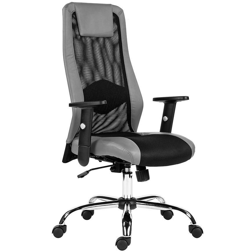 Kancelářská židle Sander, šedá