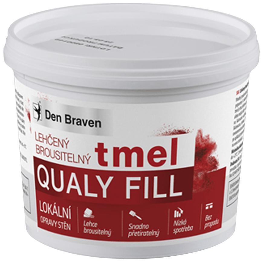 Lehčený brousitelný tmel Qualy Fill 500 ml