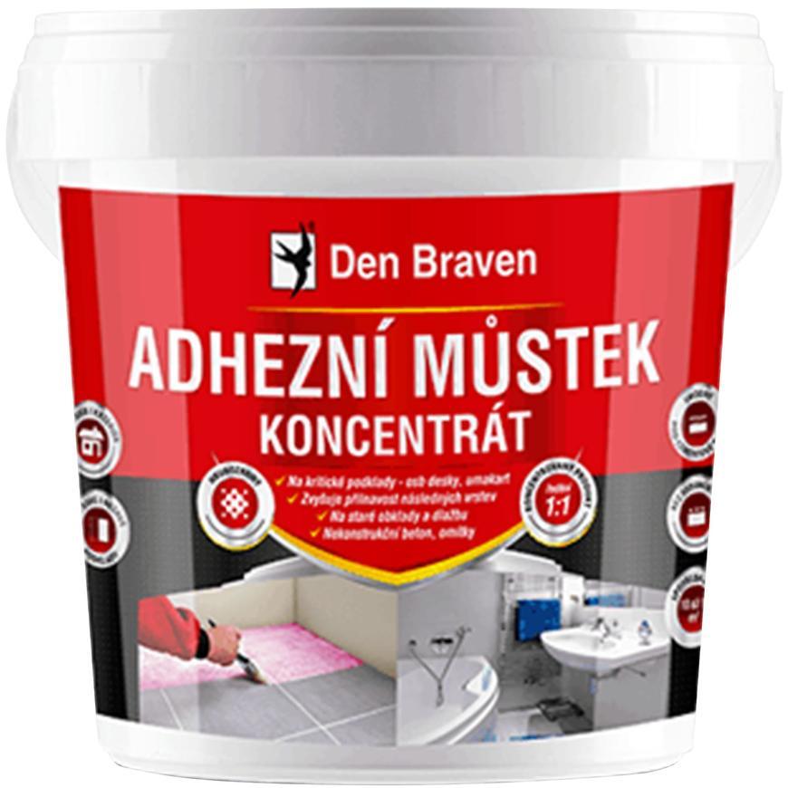 Adhezní můstek Den Braven koncentrát 1 kg barva růžová