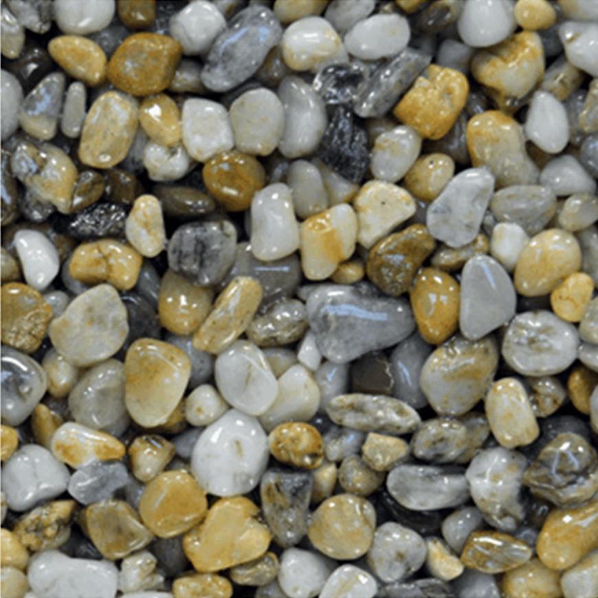 Říční kamínky oblé 4-8 mm 25kg