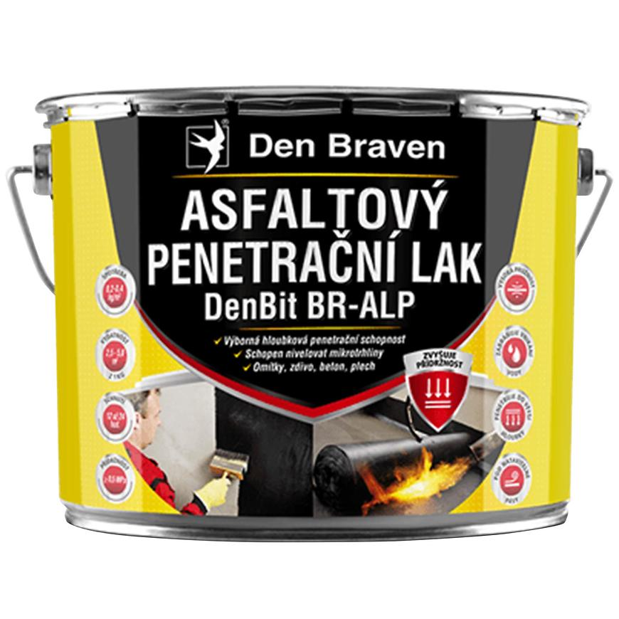 Asfaltový penetrační lak DenBit BR – ALP 4,5 kg