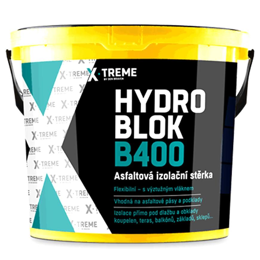 Asfaltová izolační stěrka Hydro blok B400 5 kg