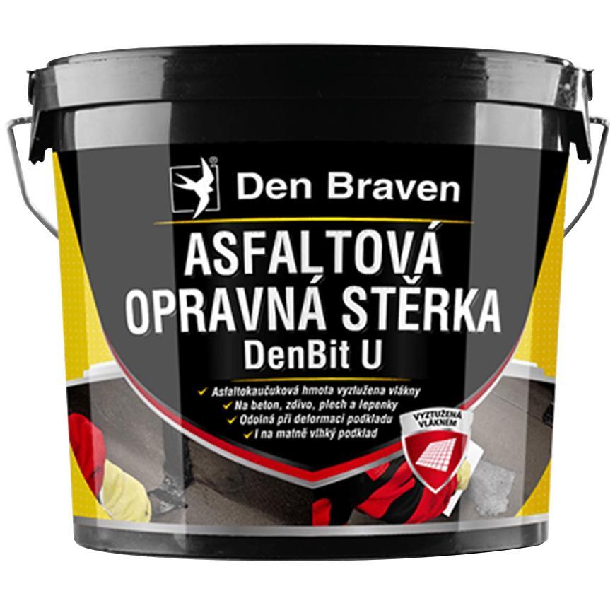 Asfaltová opravná stěrka Den Braven DenBit U 5 kg