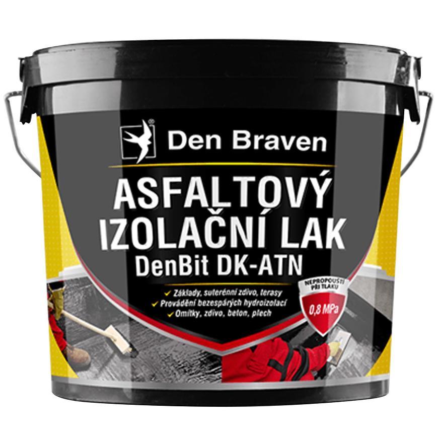 Asfaltový izolační lak DenBit DK – ATN 9 kg