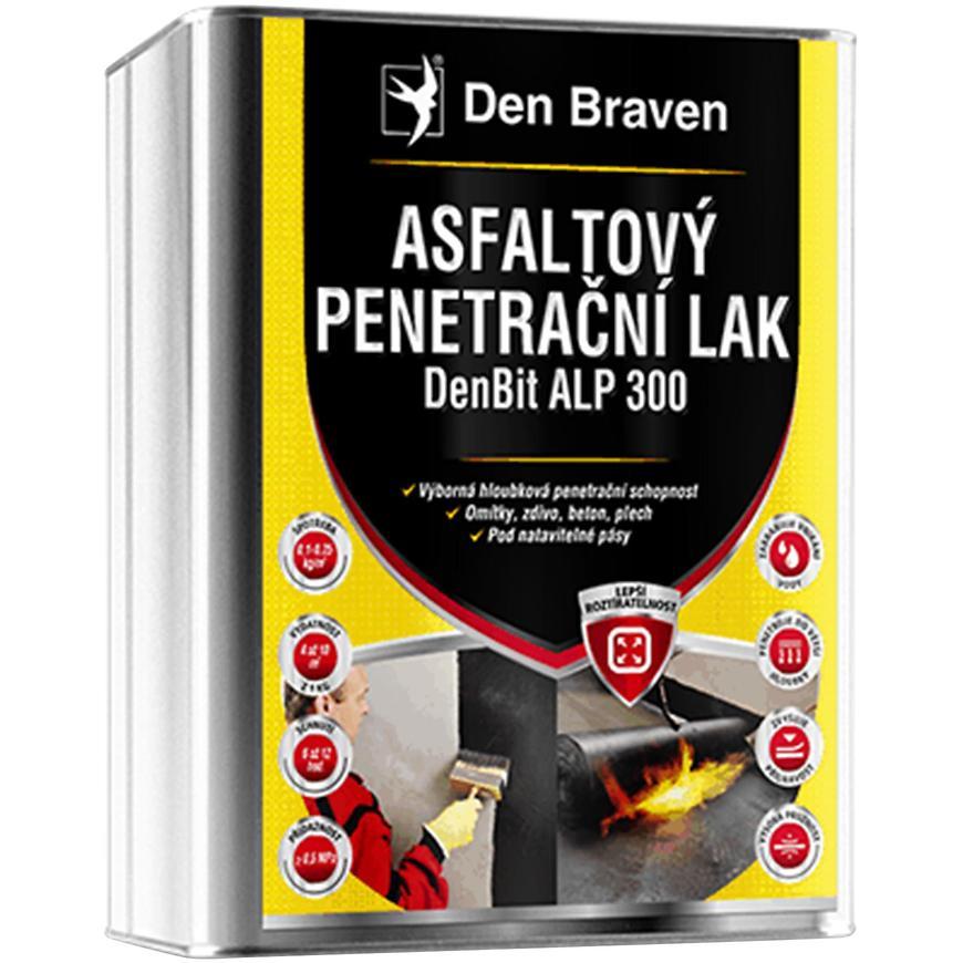 Asfaltový penetrační lak DenBit ALP 300 9 kg
