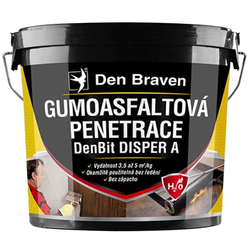 Gumoasfaltová penetrace DenBit DISPER A 10 kg