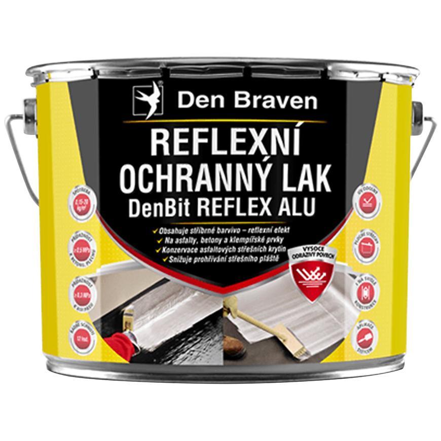 Reflexní ochranný lak DenBit REFLEX ALU 4,5 kg