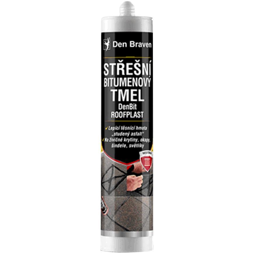 Střešní bitumenový tmel DenBit Roofplast 310 ml