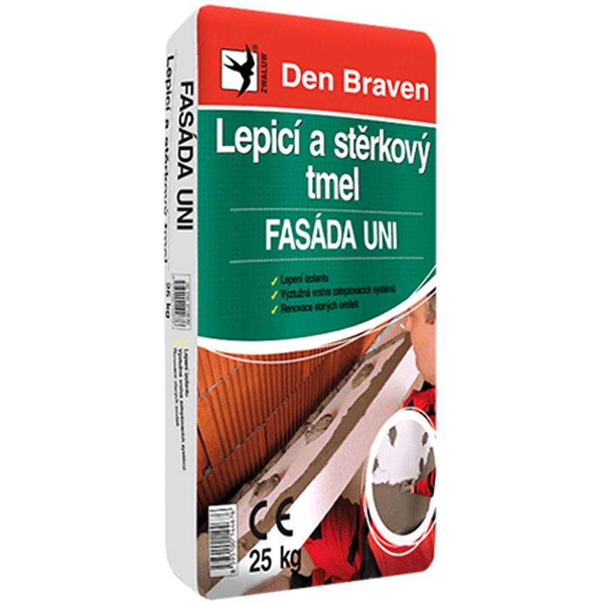 Den Braven Lepicí a stěrkový tmel FASÁDA UNI 25 kg
