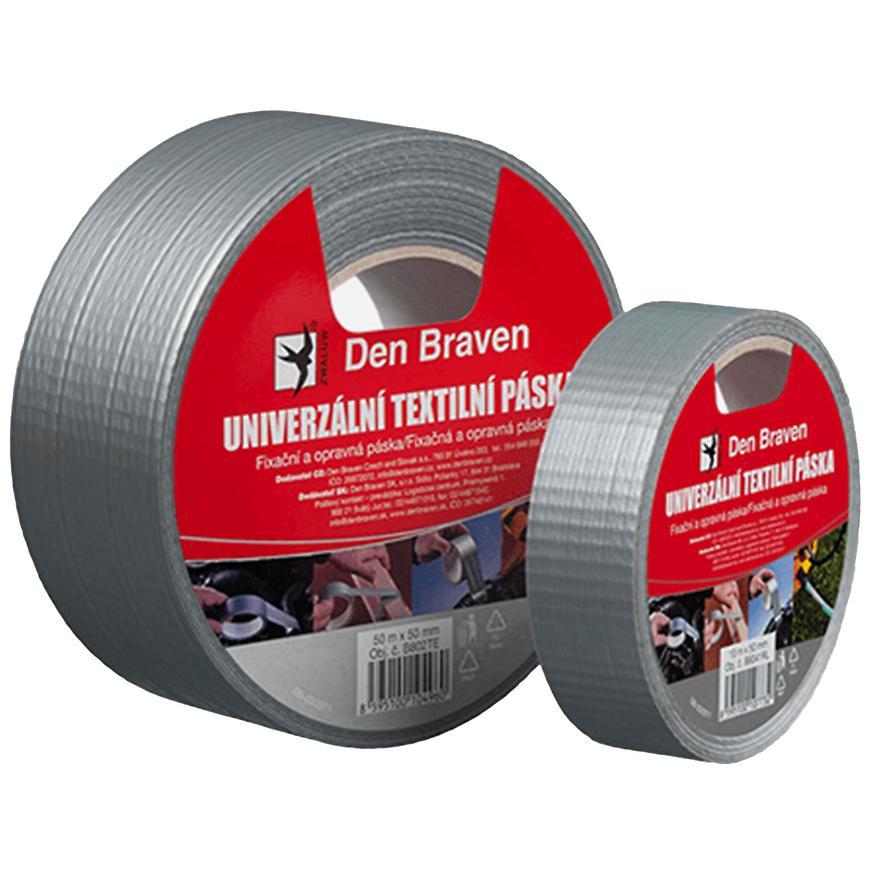 Univerzální textilní páska 50 mm x 10 m