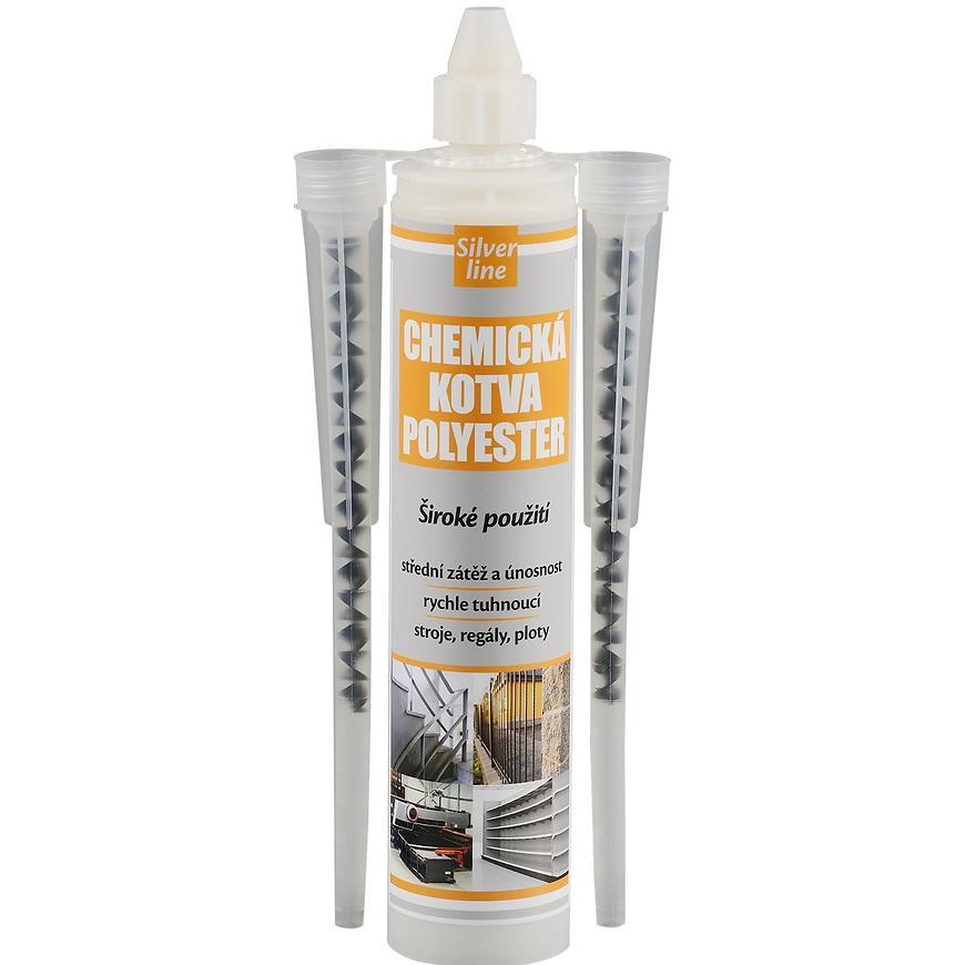 Den Braven chemická kotva PE 300 S silver line 300 ml