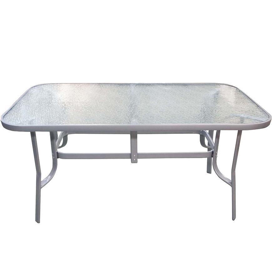 Sada stůl MT6008 + 4 vysoké židlí  TGS001 šedá