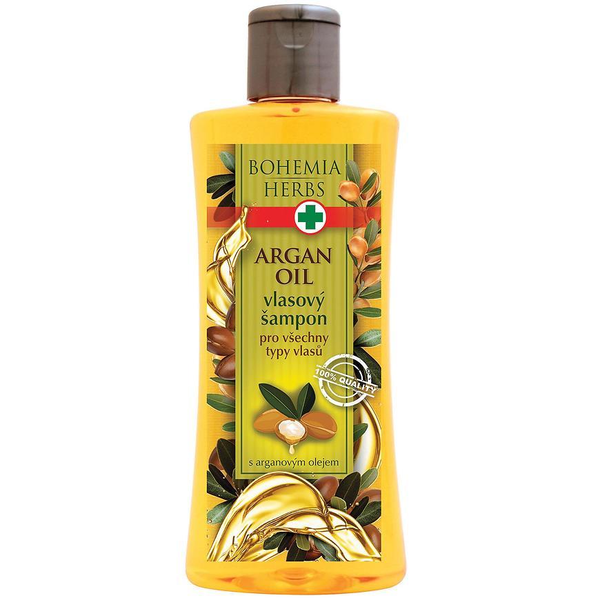 Vlasový šampon s arganovým olejem 250 ml