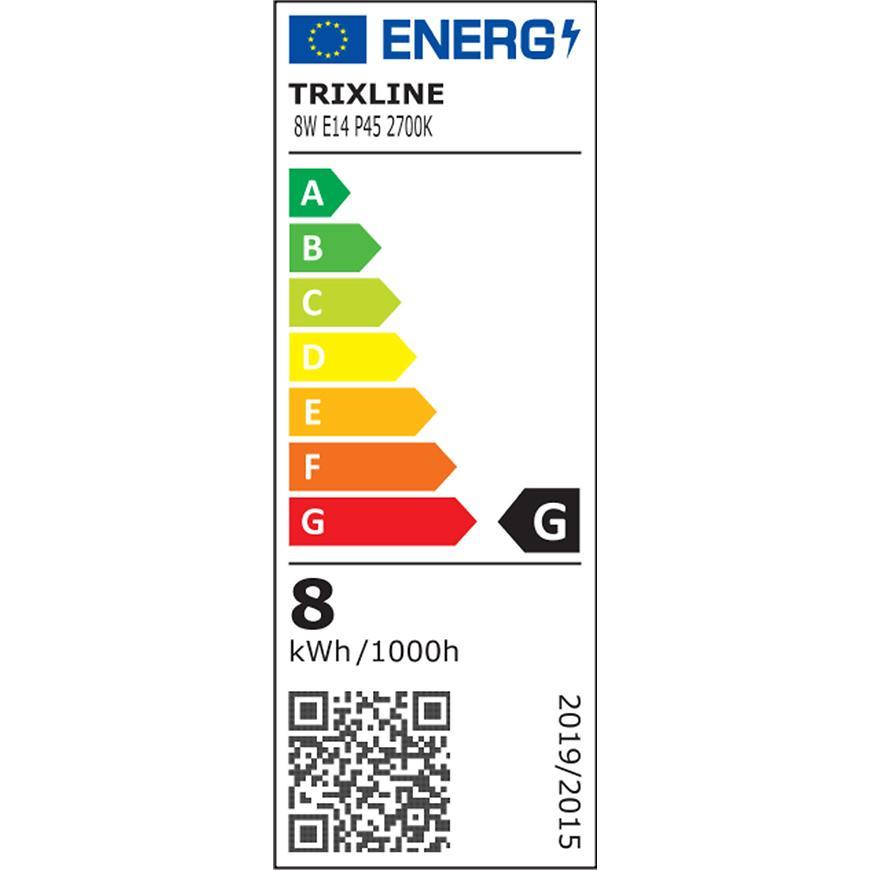 Žárovka TR LED P45 8W 2700K 640lm E14