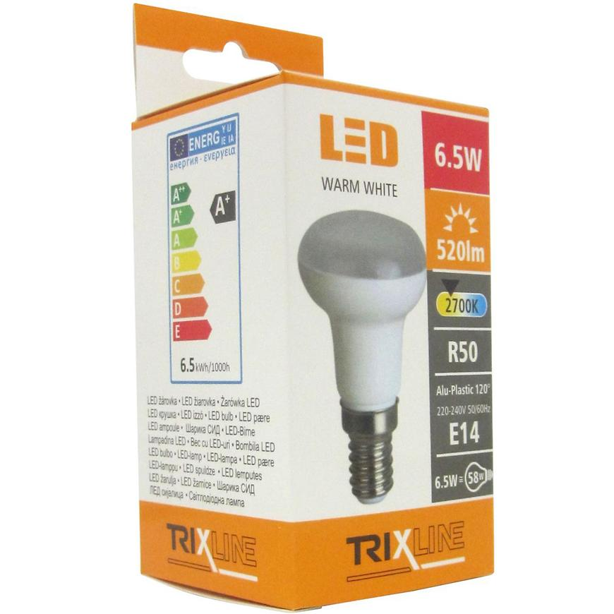 Žárovka LED R50 6,5W E14 520lm 2700K