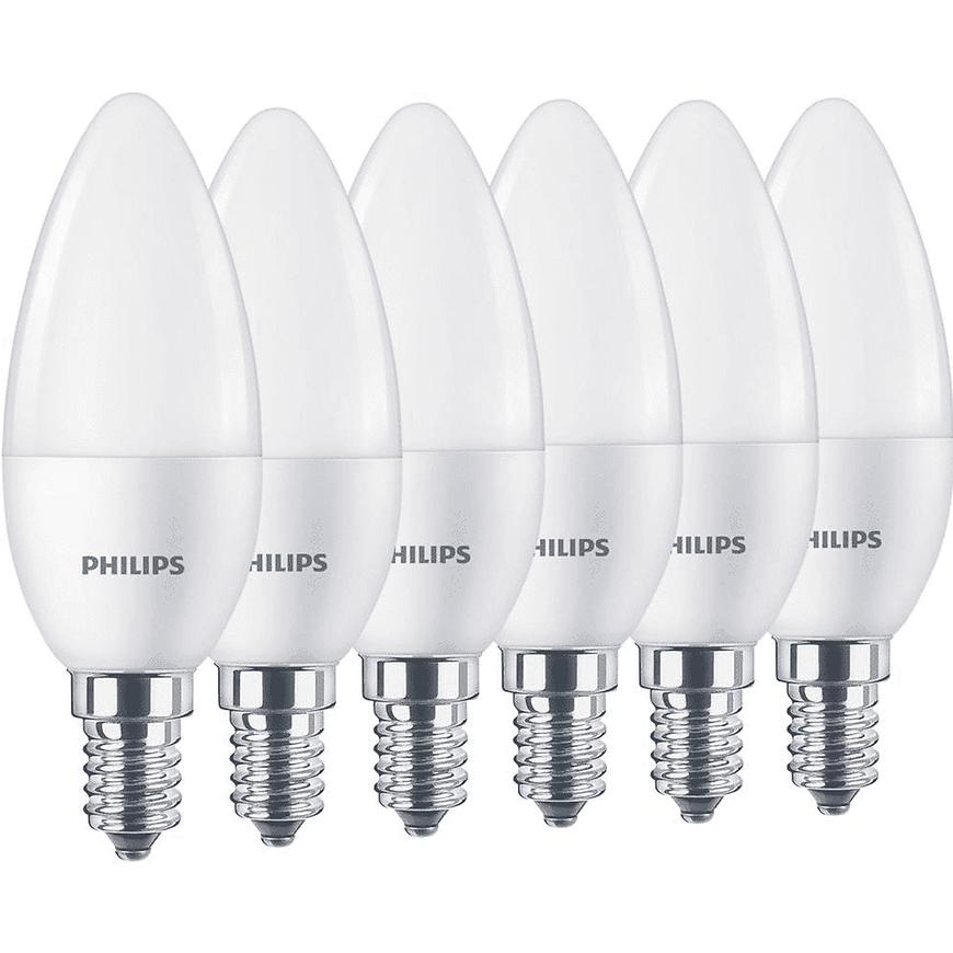 Žárovka X6 LED 5,5W = 40W B35 E14 WW FR ND 6CT/6