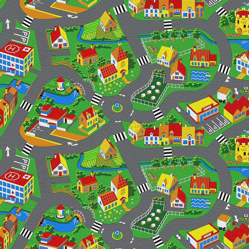 Kobercová krytina Little Village 90