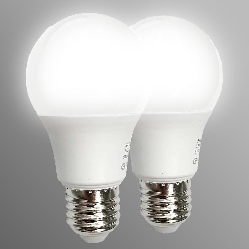 Žárovka LED 2PACK A60 E27 12W 6000K