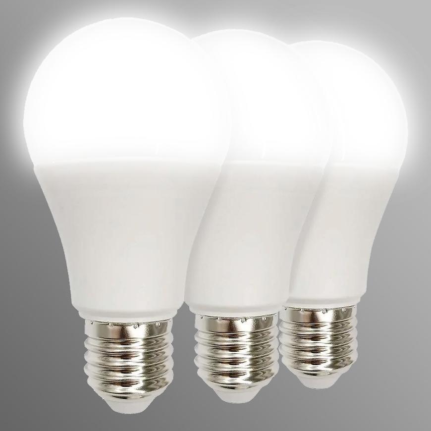 Žárovka LED 3PACK A60 E27 12W 4000K