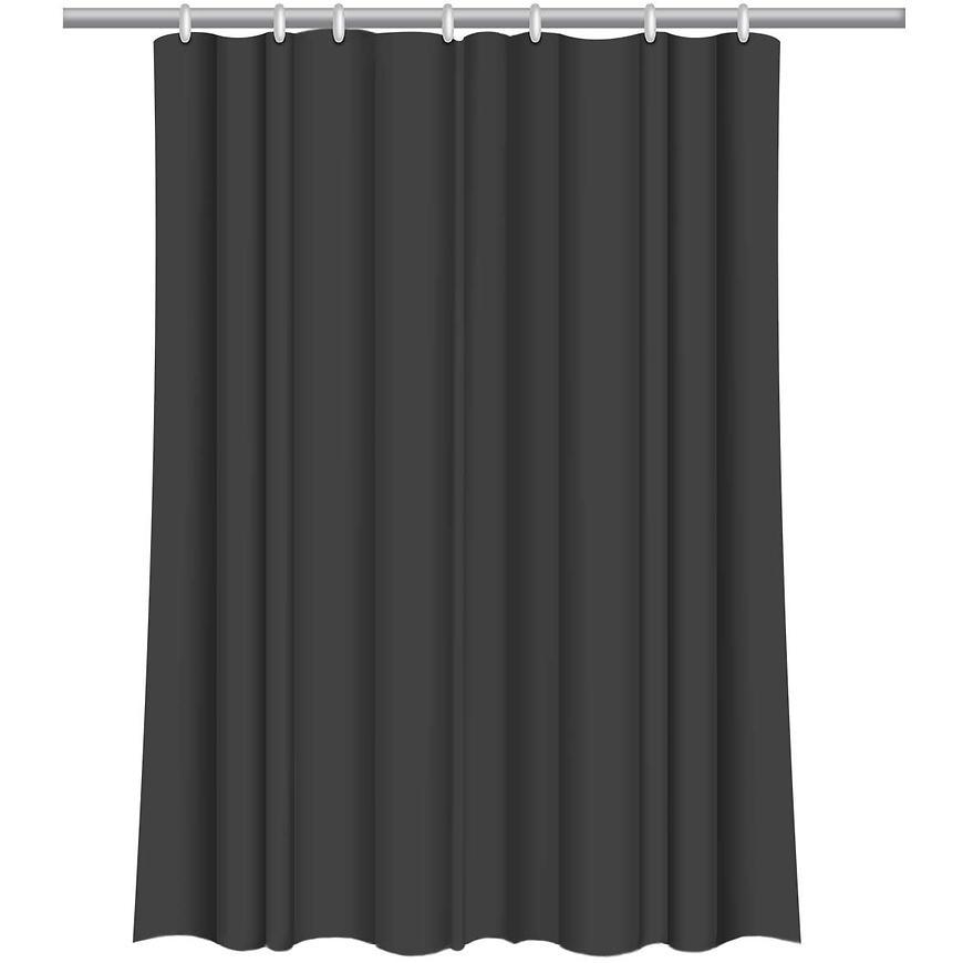 Sprchový závěs Star 180x200 černý