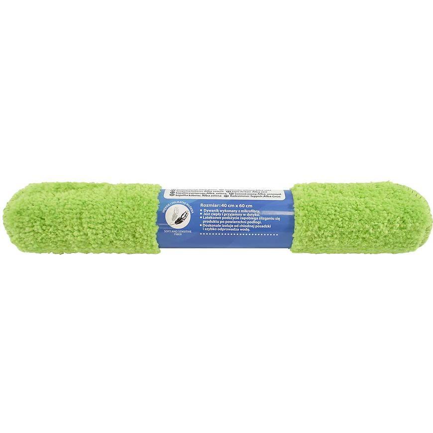 Kobereček koupelnový Alba zelený 40x60