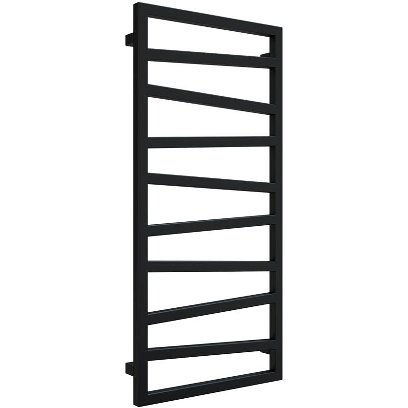 Koupelnovy radiátor Zigzag metallic black 1070/500