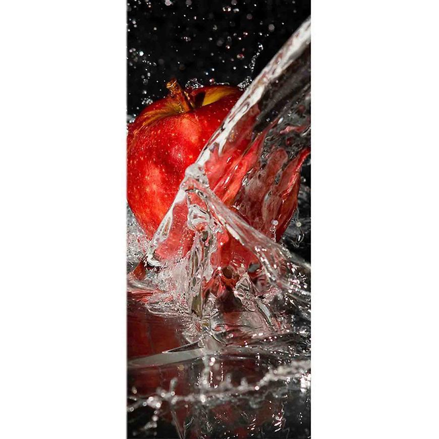 Dekor skleněný - jablko ve vodě 20/50