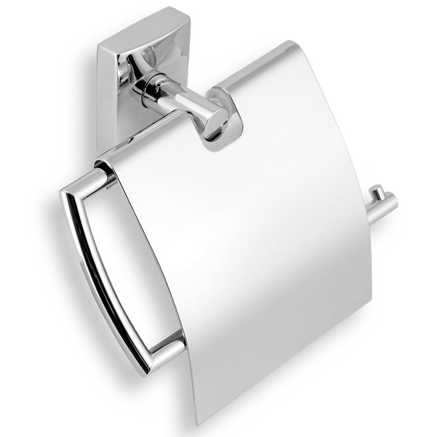 Držák toaletního papíru s krytem METALIA 12 0238,0