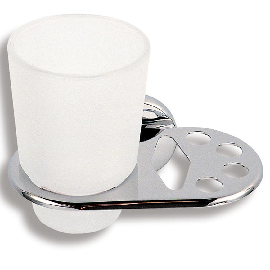 Držák kartáčků a skleničky METALIA 1 6149,0