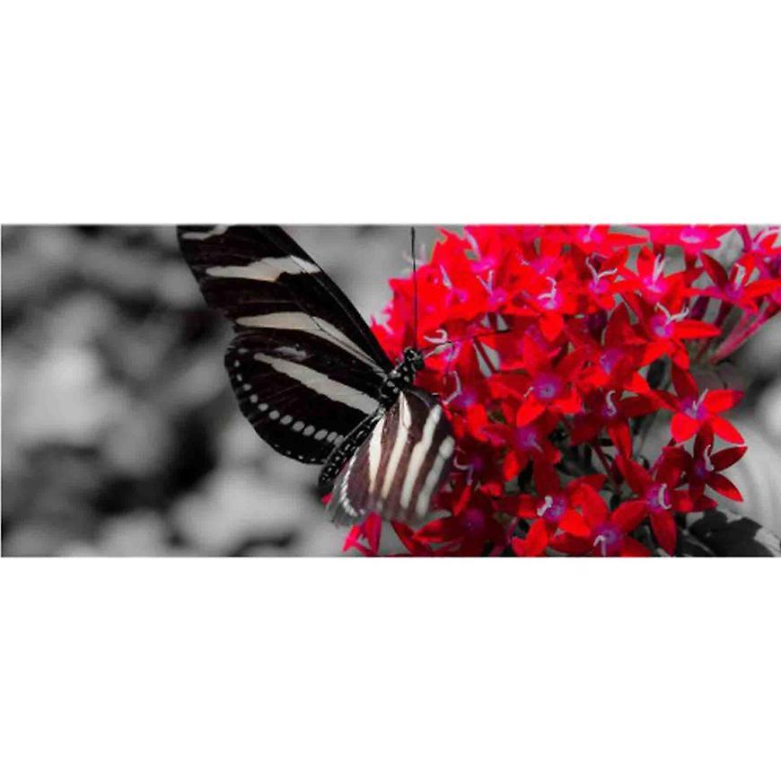 Dekor skleněný - motýl 20/50