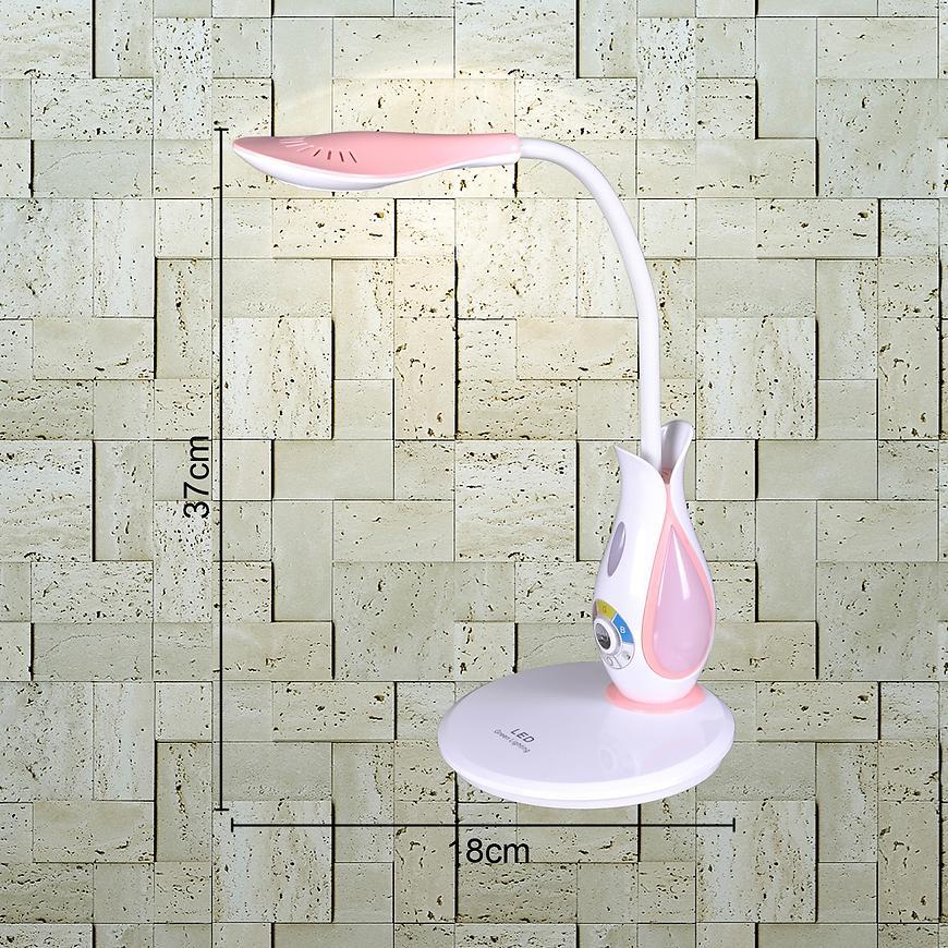 Stolní lampa Cajero K-BL 1808 růžova LB1