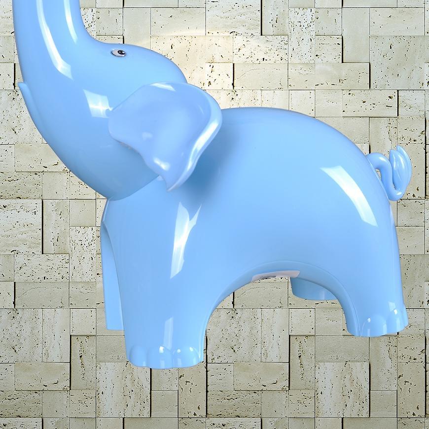 Stolní lampa Slon K-BL1603 modra LB1