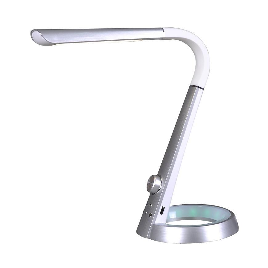 Stolní lampa Berkane K-BL 1063 stříbrna LED 8W LB