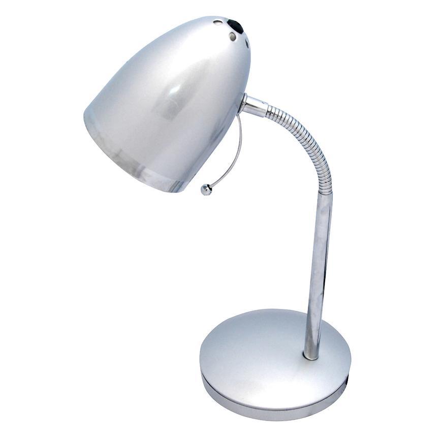 Stolní lampa Kajtek K-MT-200 stříbrna LB