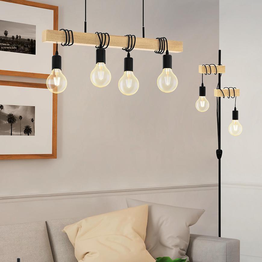 Závěsné svítidlo Townshend Black32916 LW4