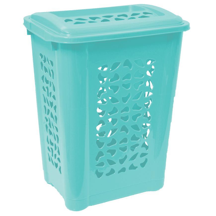 Prádelní koš Per 60 L modrý