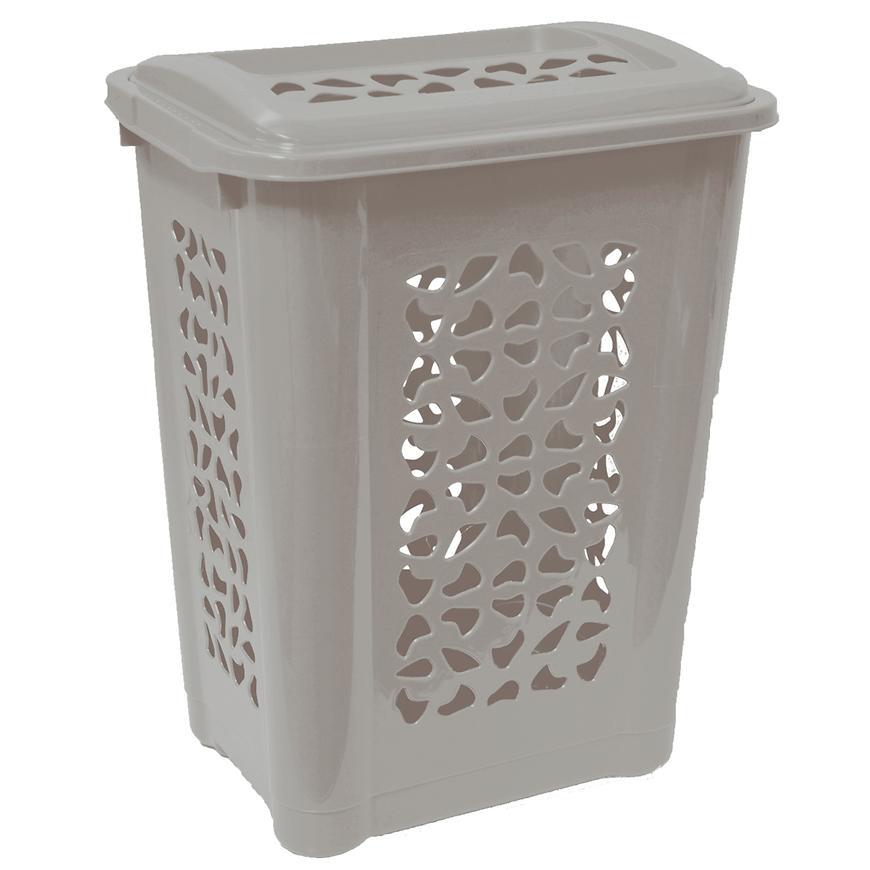 Prádelní koš Per 60 L šedý