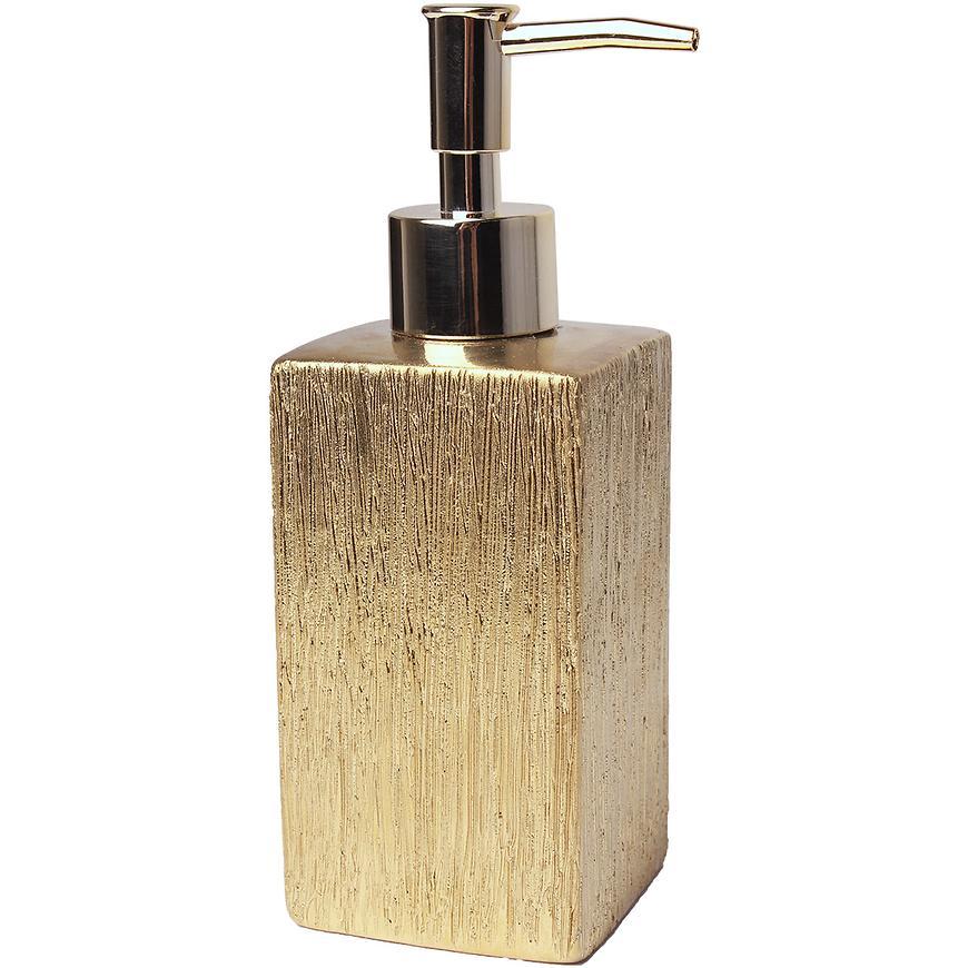Dávkovač floss 6,5x6,5x18 cm zlat. la-floss-dozown-zło