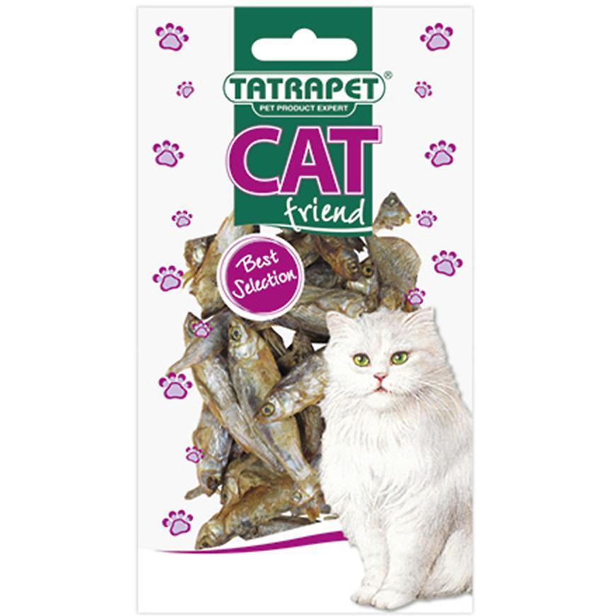 Sušené rybky pro kočku 30 g